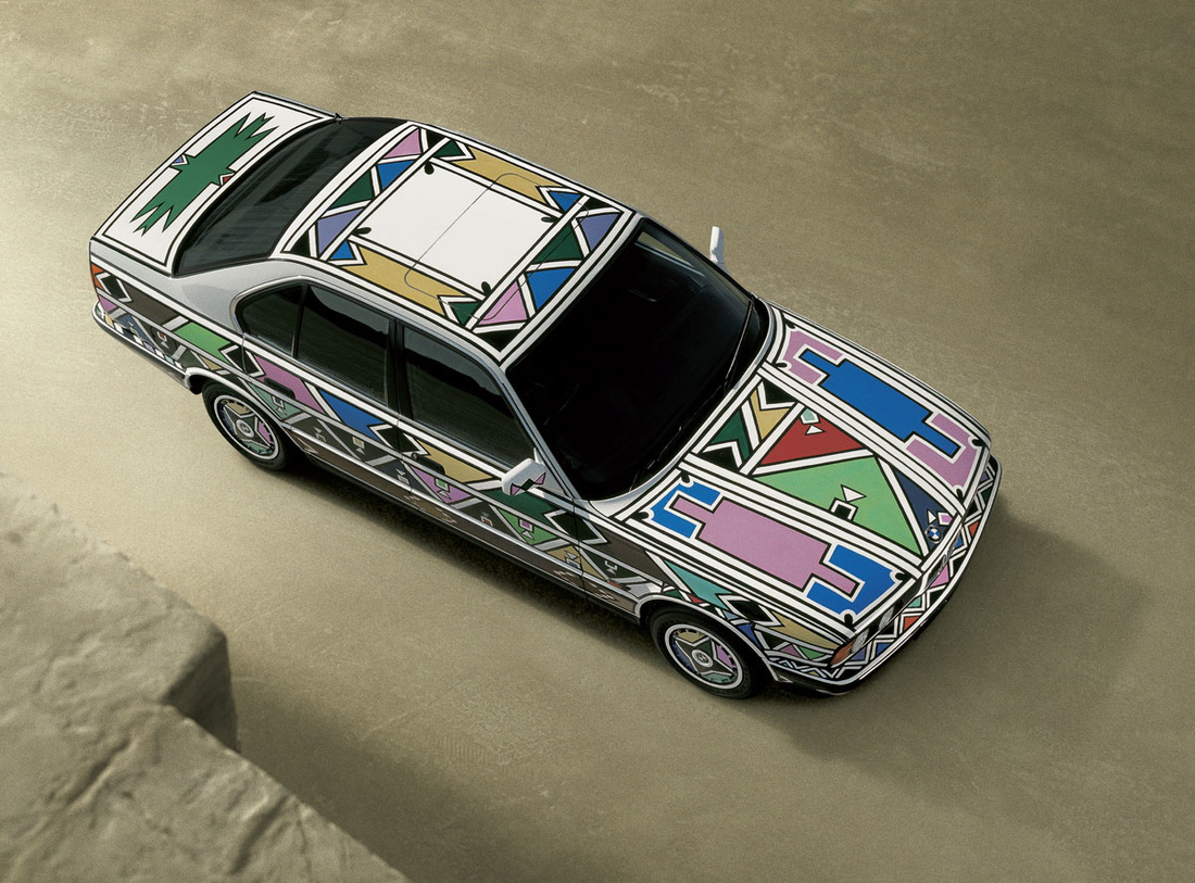 Esther Mahlangu, BMW Art Car, 1991