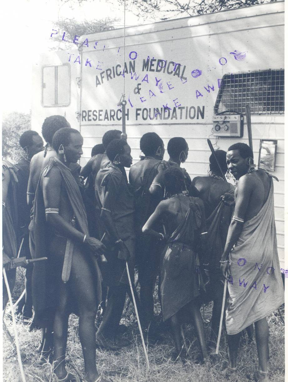 Ground-based mobile medical services, Kajiado and Narok (Kenya), 1960s